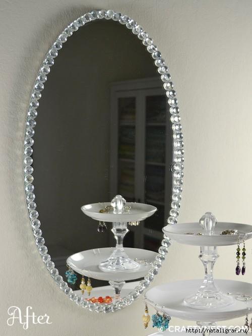 искусственно состаренное зеркало: