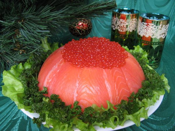 Соблазнительный дизайнерский рыбный торт (1) (600x450, 121Kb)