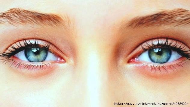 Как сделать уставшие глаза