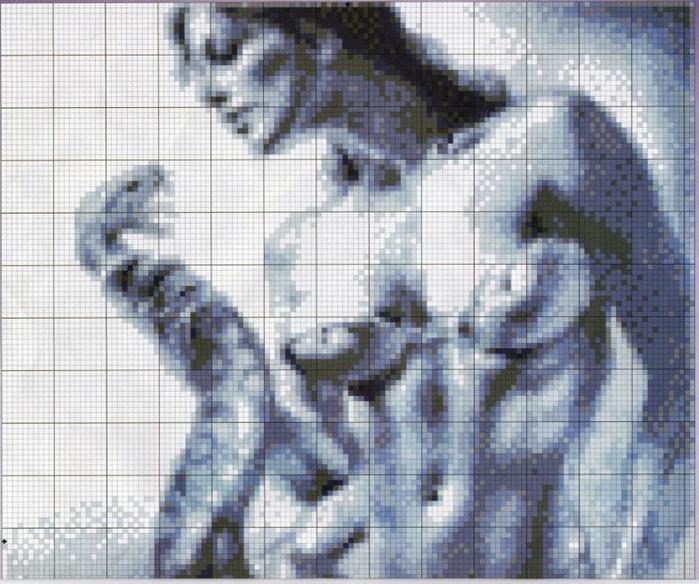 Дама со змеей в стиле НЮ.