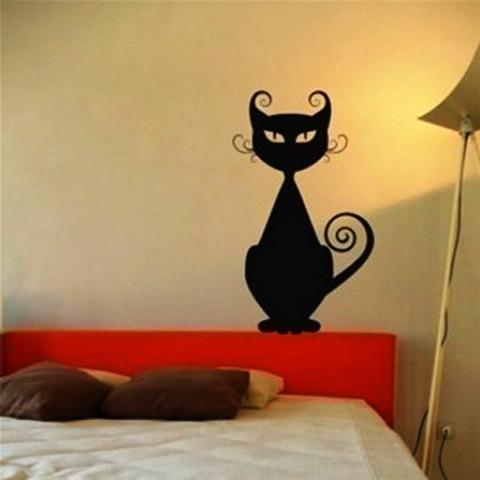 Рисунок на стене своими руками кот - Все Березники