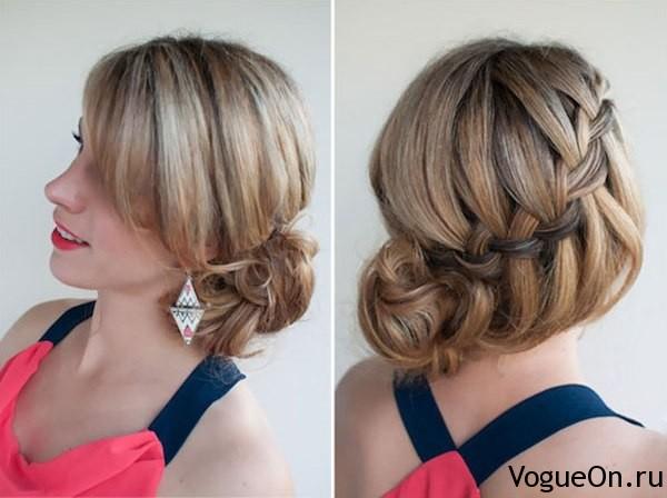 """Коса """"водопад"""", как плести косу """"французский водопад"""" своими руками Модные и стильные прически"""