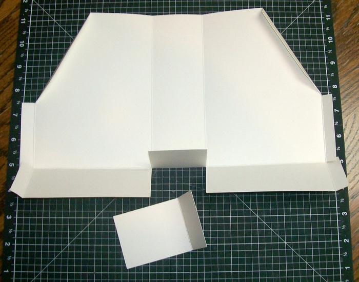 Лоток из картона для бумаг своими руками 93