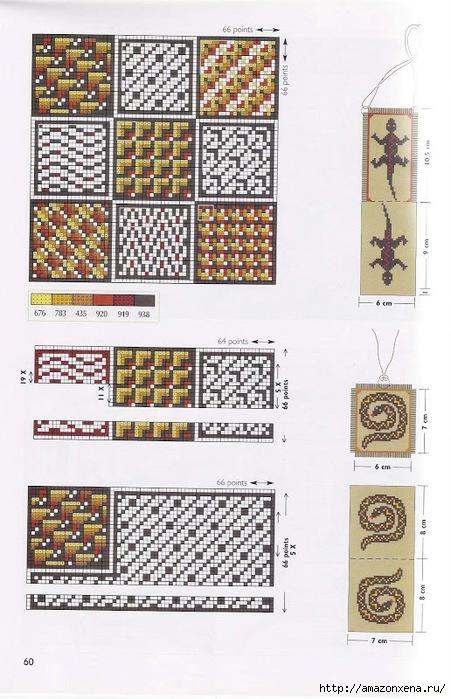 Схемы вышивки крестиком АФРИКАНСКИЕ МОТИВЫ (9) (451x700, 249Kb)