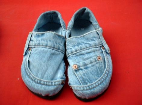 Эспадрильи джинсовые своими руками