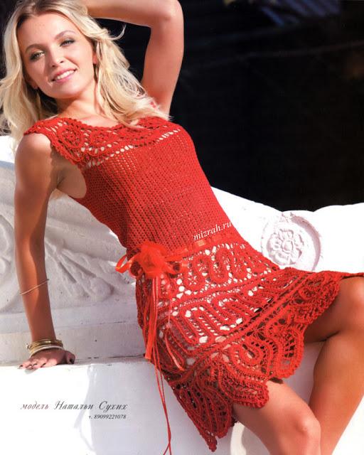 Красное платье (512x640, 117Kb)