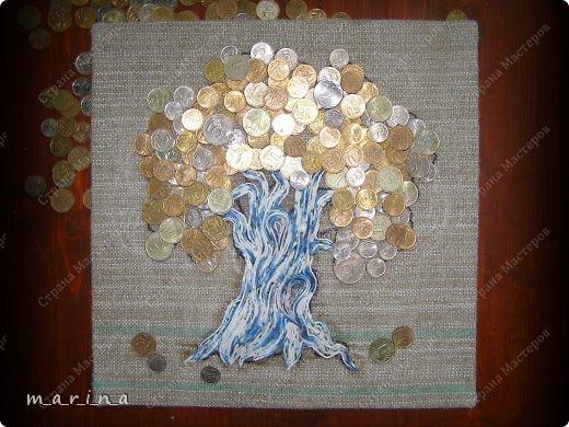 Поделка из монет своими руками фото