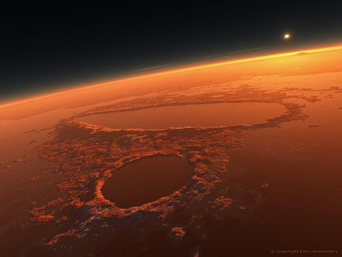 планета марс фотографии 2 (670x503, 93Kb)