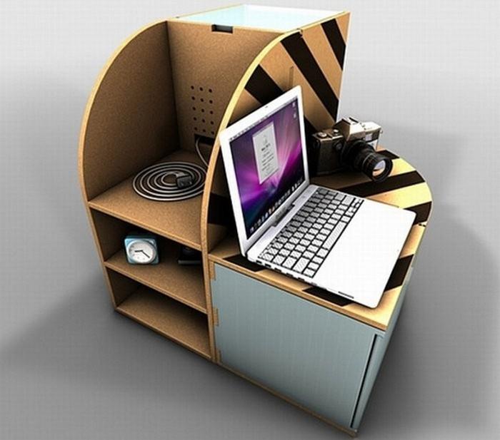 Мебель из картона в интерьере вашего дома 10 (700x617, 70Kb)