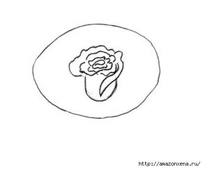 Как нарисовать розу (5) (415x347, 27Kb)