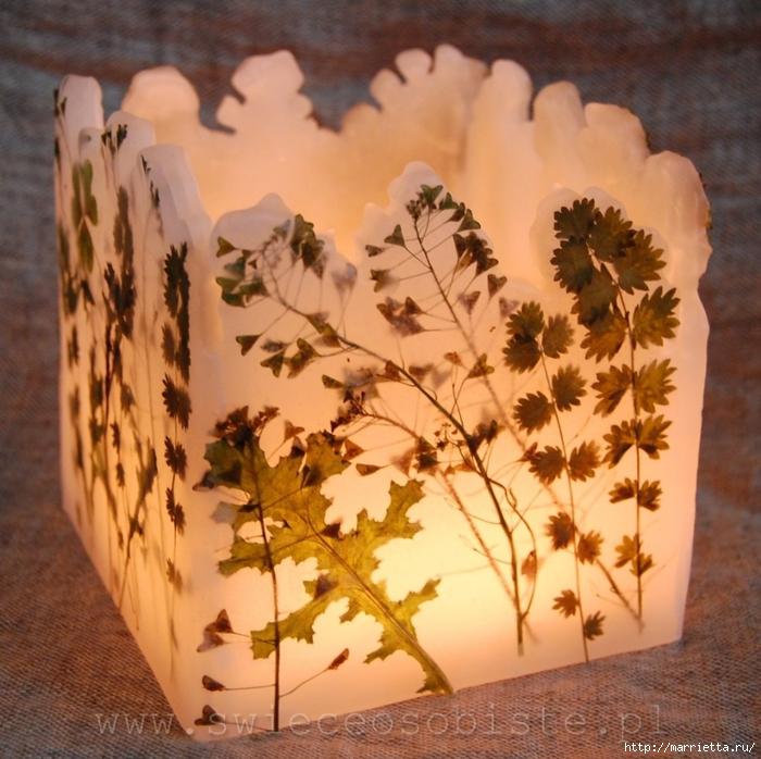 цветочные свечи ручной работы (5) (700x698, 347Kb)