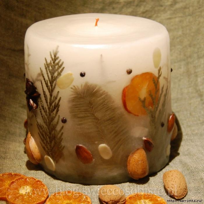 цветочные свечи ручной работы (10) (700x700, 319Kb)