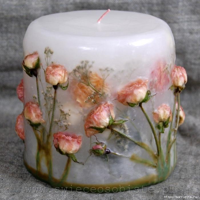цветочные свечи ручной работы (23) (700x700, 314Kb)