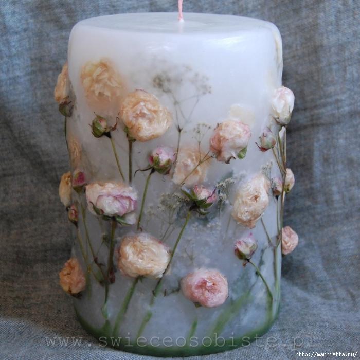 цветочные свечи ручной работы (25) (700x700, 322KB)
