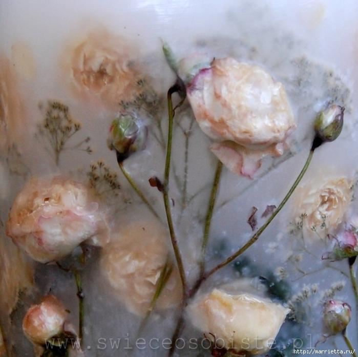 цветочные свечи ручной работы (27) (700x697, 288Kb)