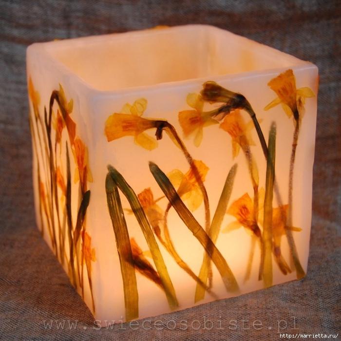 цветочные свечи ручной работы (40) (700x700, 324KB)