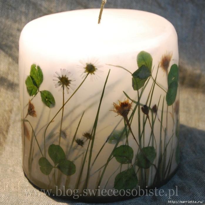 цветочные свечи ручной работы (57) (698x700, 288Kb)