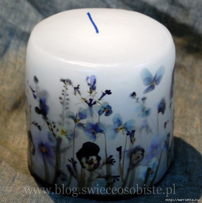 цветочные свечи ручной работы (62) (698x700, 287KB)