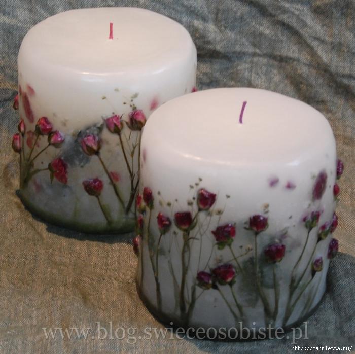 цветочные свечи ручной работы (74) (700x698, 317Kb)