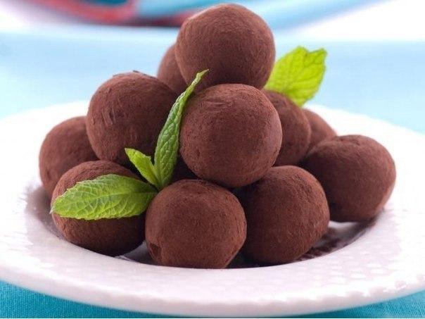 Рецепт шоколадных трюфелей