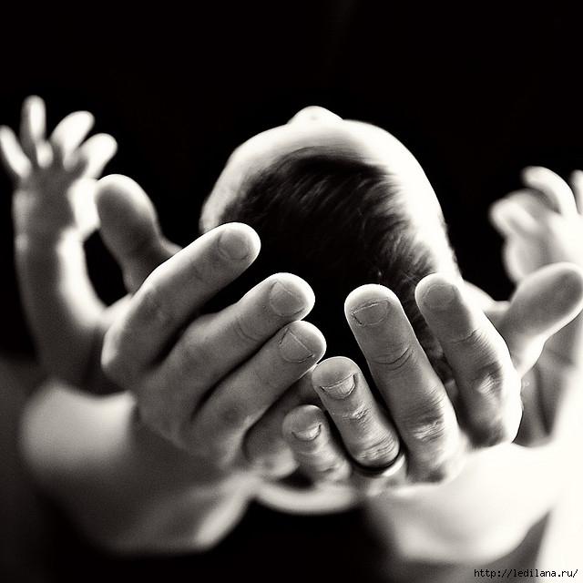 дети ребёнок на руках (640x640, 159Kb)