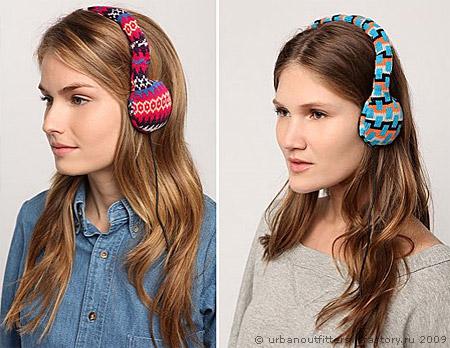Теперь наушники могут согреть вашу голову не только звуками.  Пока, коллекция вязаных наушников состоит из трёх...