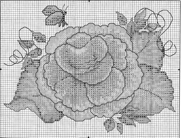 43093 Dewberry Tole Rose (1) (700x535, 334Kb)