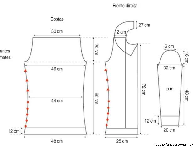 Куртка-жакет спицами (4) (621x471, 61Kb)