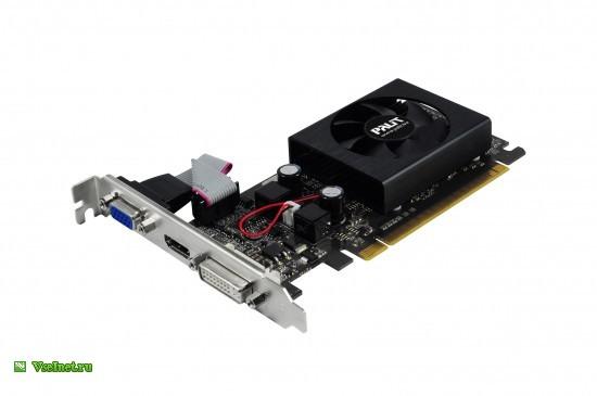 Видеокарта Palit PCI-E NV GF8400GS 512Mb TC DDR3 HDMI+CRT+DVI bulk (550x365, 25Kb)