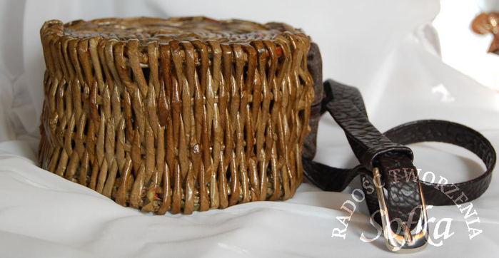 плетение из газет. корзинка с декупажем (37) (700x362, 45Kb)