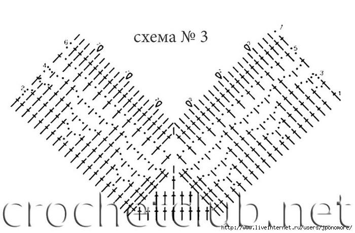 Крючок обвязка горловины схемы
