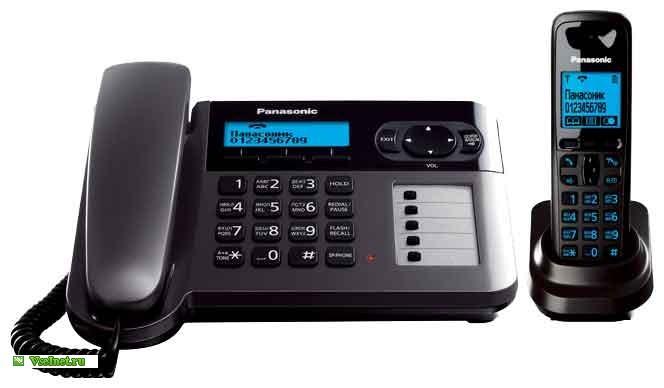 Радиотелефон Panasonic KX-TG6451RUT (664x388, 33Kb)