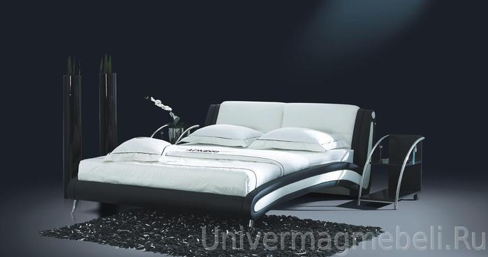 Купить двуспальную кровать из массива с матрасом в Москве недорого, цена снижена