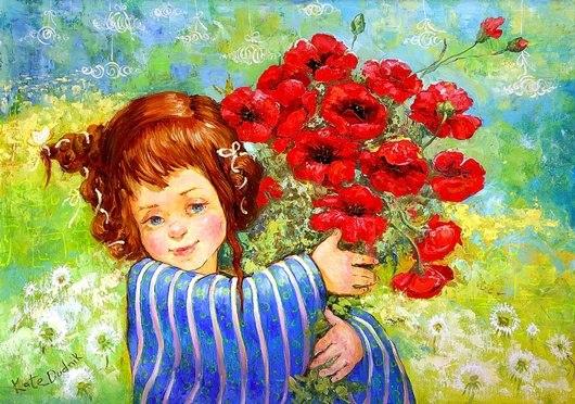 картины украинской художницы екатерины дудник 7 (530x372, 83Kb)