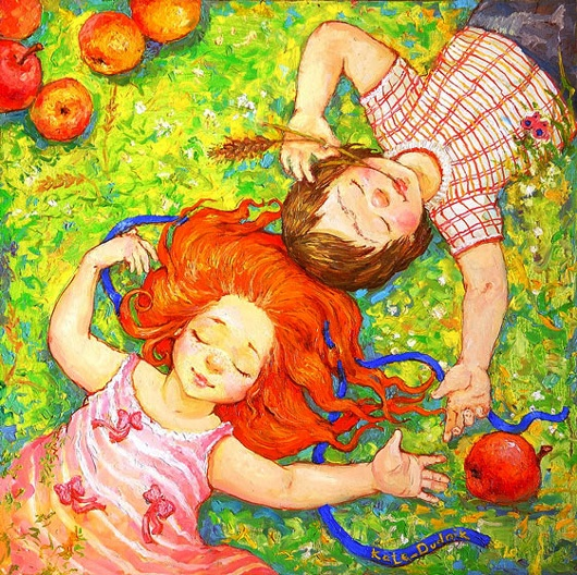 картины украинской художницы екатерины дудник 9 (530x528, 216Kb)