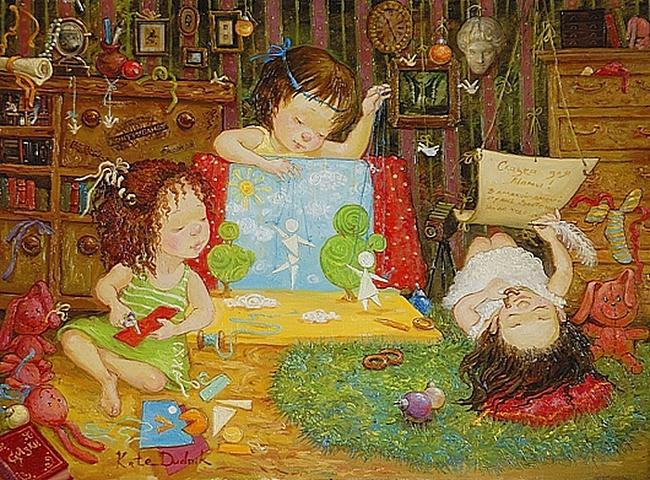 картины украинской художницы екатерины дудник 11 (650x480, 208Kb)
