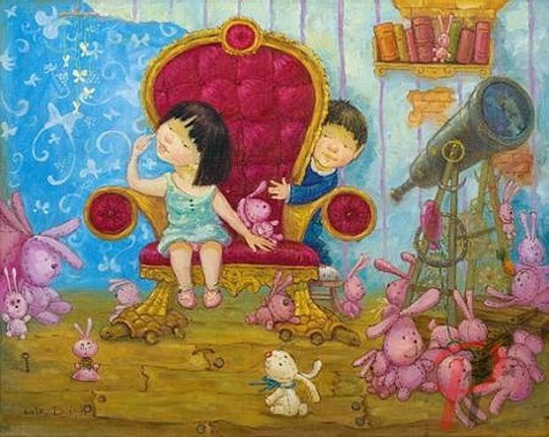 картины украинской художницы екатерины дудник 12 (621x494, 111Kb)