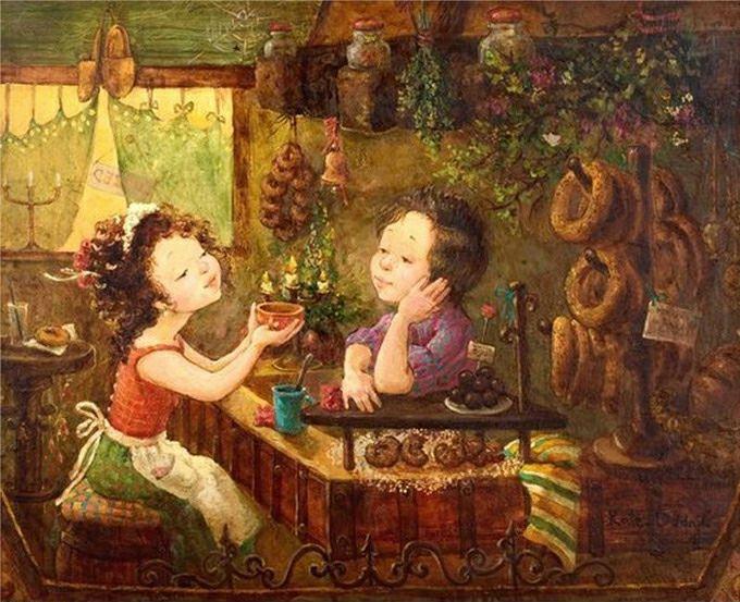 картины украинской художницы екатерины дудник 14 (680x553, 86Kb)