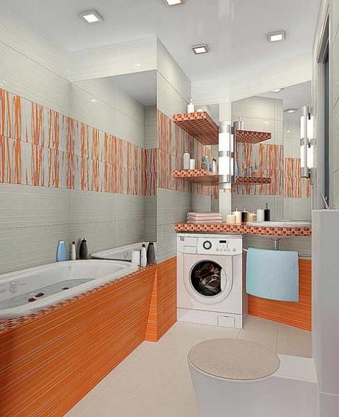 интерьер ванной комнаты совмещенной с туалетом в хрущевке фото