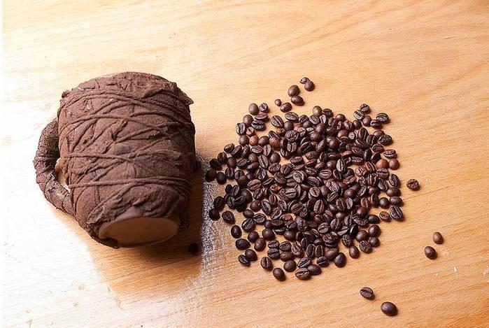 Кружка из кофе мастер класс