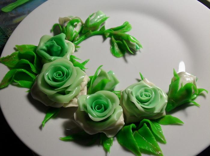 Фарфор цветы своими руками фото