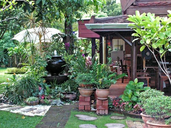Садовый дизайн своими руками