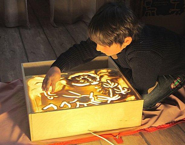 Стол для рисование песком своими руками