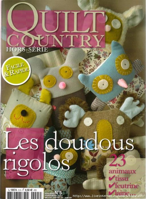 Quilt Country Les Doudous Rigolos 01 (514x700, 341Kb)