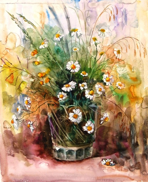 26027_flowers_07_Flowers_of_Wild_Chamomile_30x38_cm_watercolors-paper (488x600, 110Kb)