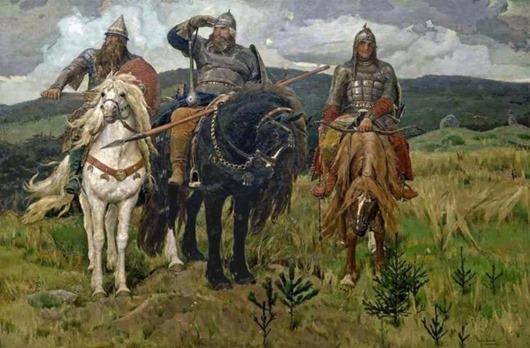 Славянские богатыри в действительности