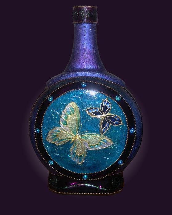 бутылка бабочки 1 (558x700, 252Kb)