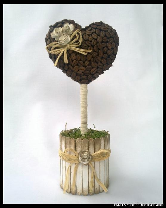кофейное деревце. кофейный топиарий-валентинка (1) (557x700, 207Kb)