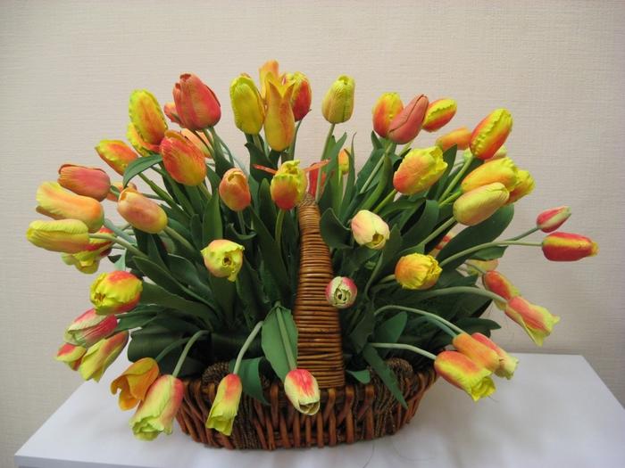 Цветы из полимерной глины картинки 5