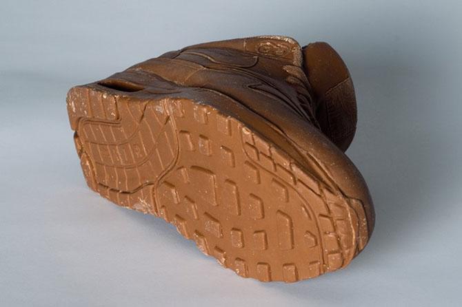 скульптуры из шоколада (670x446, 55Kb)